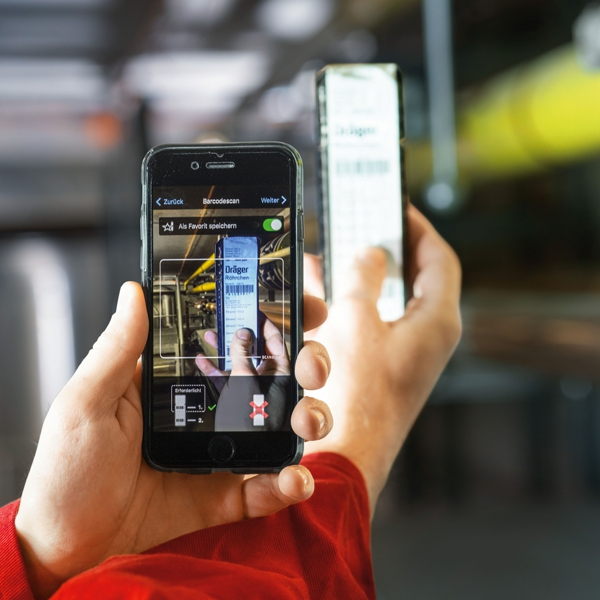 Dräger-Röhrchen-Messungen per App