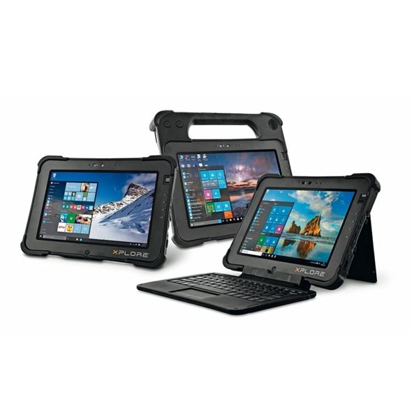 Robuste und mobile Tablet-Plattform