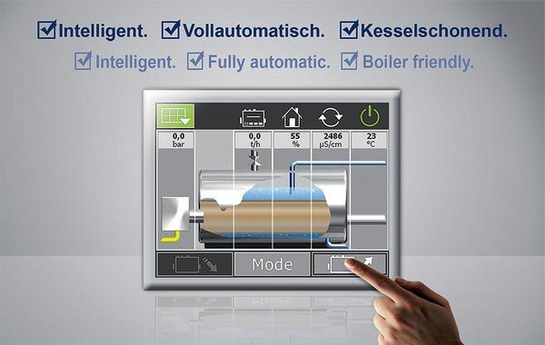 Steuerung für Hochdruck-Dampfkesselanlagen. - prozesstechnik online