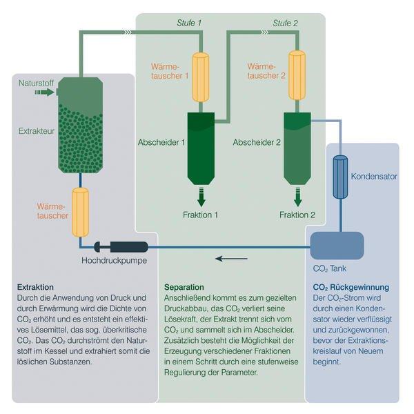 Bildergebnis für CO2 Extraktion
