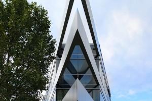 Genügt auch hohen ästhetischen Ansprüchen – der 10000m2 umfassende Neubau von Octapharma im Heidelberger Techno-logiepark