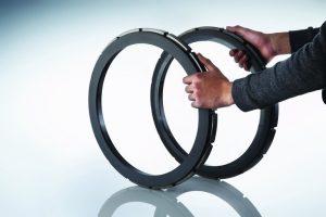 Die Diamond-Face-beschichteten Ringe haben den 2000-Stunden-Turningbetrieb auf dem Prüfstand unbeschadet überstanden
