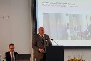 Matthias Altendorf, CEO der Endress+Hauser-Gruppe