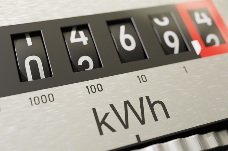 Close-up_view_on_electrometer_measuring_electricity_consumption._3D_rendered_illustration.