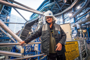 On_28_and_29_September_2015,_ESO's_Paranal_Observatory_welcomed_a_very_special_visitor_—_British_rock_guitarist,_singer,_songwriter_and_astrophysicist,_Brian_May._Famed_for_being_the_lead_guitarist_of_the_legendary_rock_band_Queen_—_May_also_has_a_passion