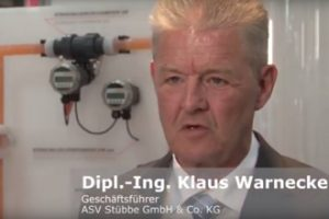 Dipl.-Ing. Klaus Warnecke, Geschäftsführer bei ASV Stübbe