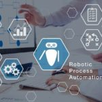Robotic_Process_Automation_(RPA)_technology_automate_business_tasks_with_direct_integration_of_robots_in_company_software_user_interface,_concept_with_icons_and_people_working_in_office_on_computer