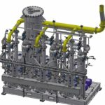 Theisen-Gasverteilungsanlage