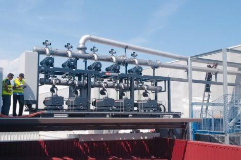 Trockene Vakuumsysteme zur Zentralisierung der Vakuumversorgung