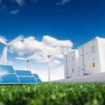 Ecology_energy_solution._Power_to_gas_concept._Hydrogen_energy_storage_with_renewable_energy_sources_-_photovoltaic_and_wind_turbine_power_plant_in_a_fresh_nature._3d_rendering._Adobe_Stock