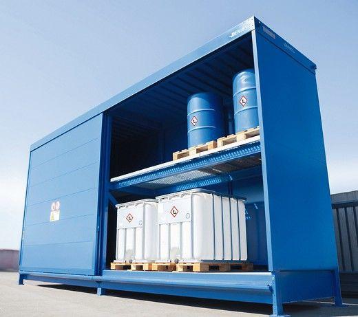Das_Gefahrstofflager_SC_ist_bereits_in_der_Grundausführung_für_die_Lagerung_wassergefährdender_Stoffe_zugelassen