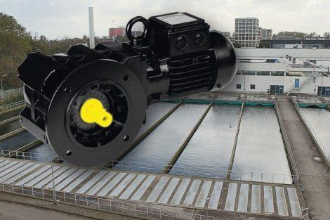Tauchfähiger Getriebemotor in IP68