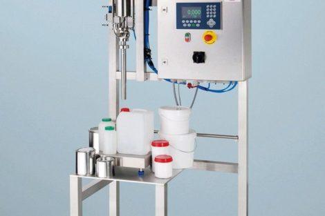 Produkt A: Halbautomatisches Abfüllsystem
