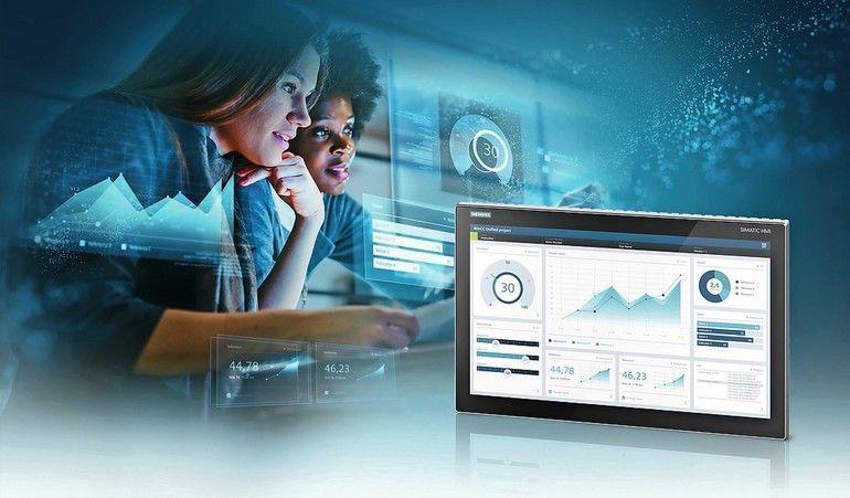 """Siemens_stellt_auf_der_""""SPS_–_Smart_Production_Solutions""""_2019_ein_völlig_neu_entwickeltes_Komplettsystem_zum_industriellen_Bedienen_und_Beobachten_vor:_Das_webbasierte_Visualisierungssystem_besteht_zunächst_aus_der_Visualisierungssoftware_Simatic_WinCC_U"""