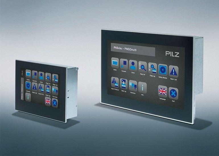 Pilz_GmbH_Bedienterminal_PASvisu