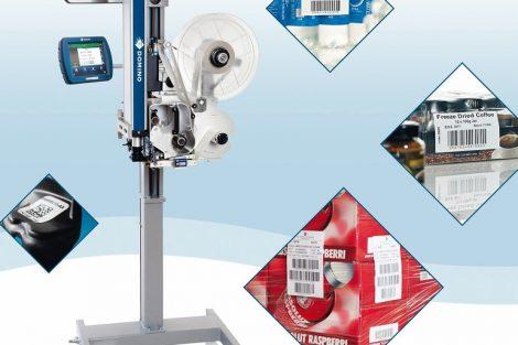 Modulare Etikettendruckspender