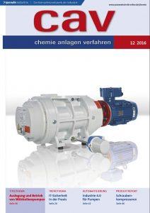 cav chemie anlagen verfahren ist eine Fachzeitschrift für die Chemietechnik