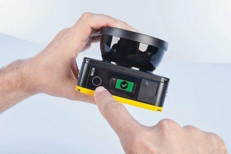 Kompakter Sicherheitslaserscanner