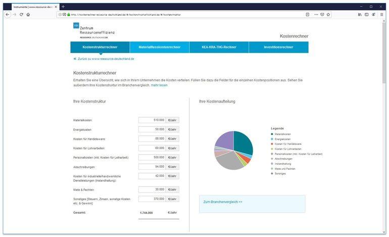 VDI_ZRE_Online-Kostenrechner