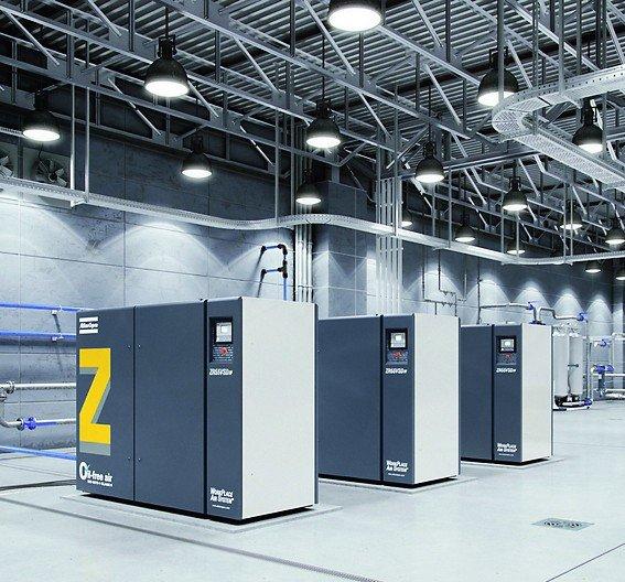 ZR_55_VSD_FF_oil-free_air_screw_compressor_installation