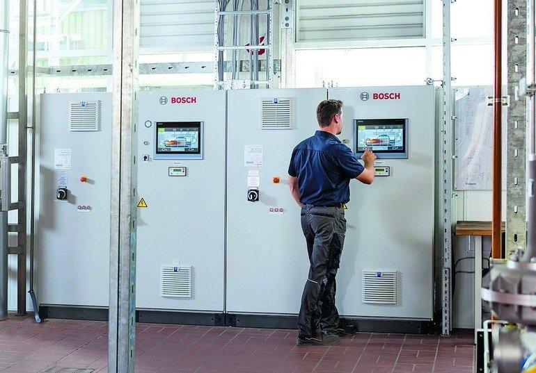 Energieeffiziente Dampfkesselanlage im Einsatz in Privatmolkerei. 30 ...
