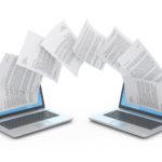 Files_transfer_between_laptops._3d_illustration.