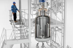 Hydrierreaktormodul_in_Rahmenbauweise