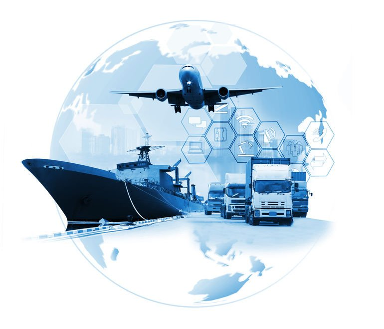 The_world_logistics_,_there_are_world_map_with_logistic_network_distribution_on_background_and_Logistics_Industrial_Container_Cargo_freight_ship_for_Concept_of_fast_or_instant_shipping