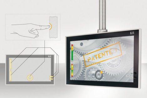 Hygienegerechte Touchscreenpanels
