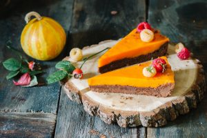 Tart_with_sea-buckthorn_and_chocolate_shortcrust_pastry_on_the_background_of_autumn