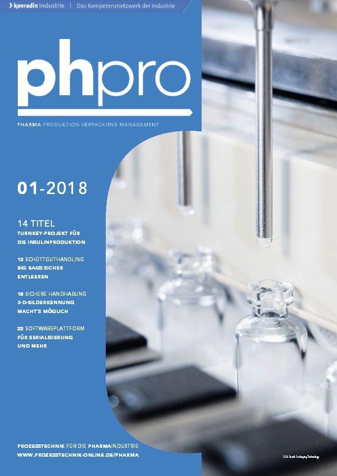 phpro ist das technische Fachmagazin für die Pharmaindustrie